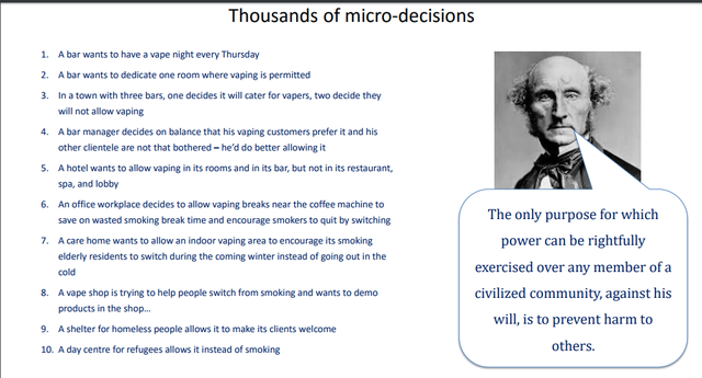 Thousands of micro decisions CB