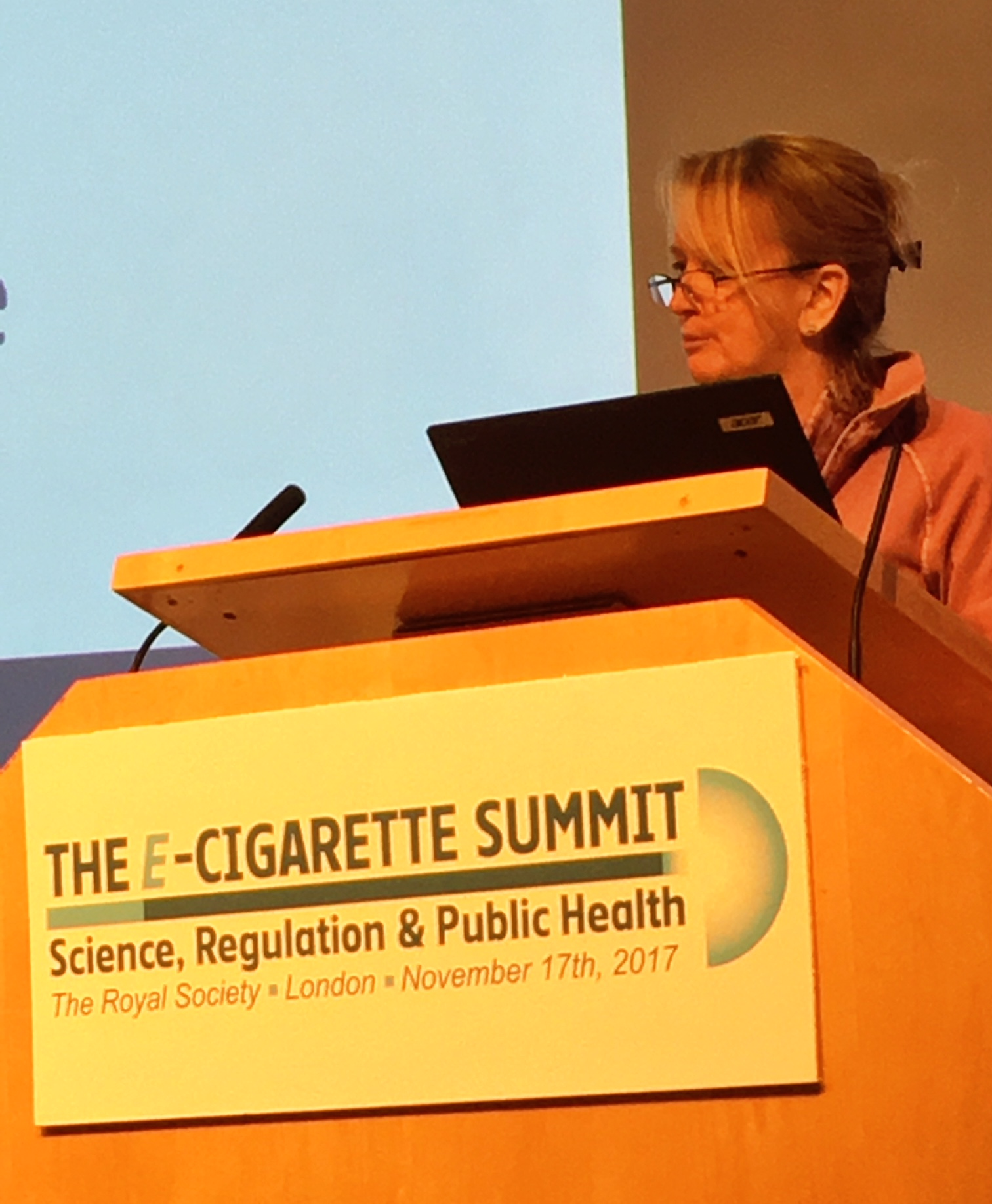 Sarah Jakes keynote speech at the E-Cig Summit 2017